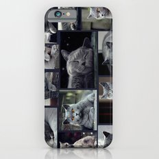 Diesel in the collage iPhone 6 Slim Case