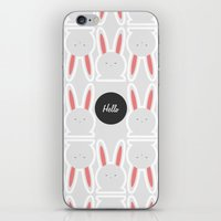 Hello Pets no.4 iPhone & iPod Skin