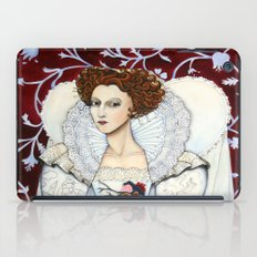 Elizabeth, the Virgin Queen, Queen of Hearts iPad Case