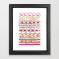 NATIVE BANDANA Framed Art Print