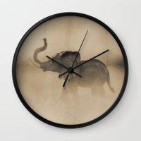 The Elephant Wall Clock