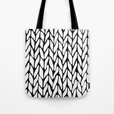 Hand Knitted Tote Bag