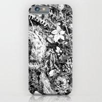 Inky Undergrowth iPhone 6 Slim Case