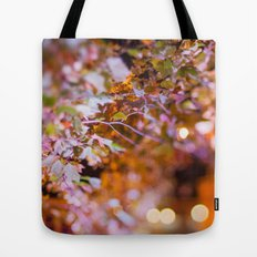 Nature and light abstract Tote Bag
