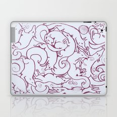 Fox Pattern Screen Print Laptop & iPad Skin