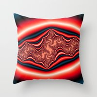 Psychedelic Throw Pillow