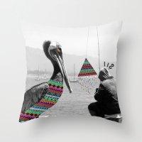 Sailor's Yarn Throw Pillow