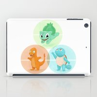 Poké: choose your starter iPad Case