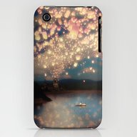 Love Wish Lanterns iPhone (3g, 3gs) Slim Case