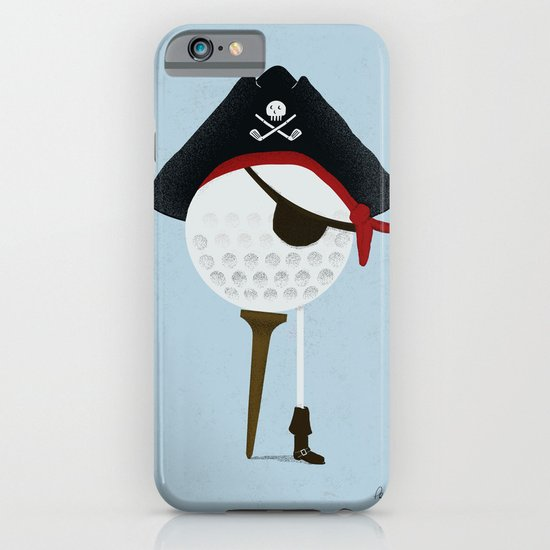 Pirate of the Open Tees iPhone & iPod Case