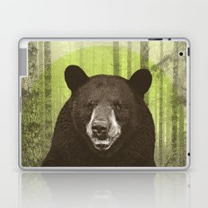Black Bear Laptop & iPad Skin