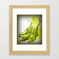Dragon's Claw Framed Art Print
