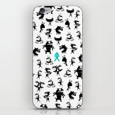 Monsters In The House iPhone & iPod Skin