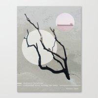 Debris Canvas Print