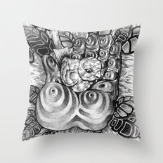 Safety Nest Throw Pillow