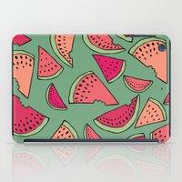 Watermelon Party iPad Case