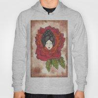 Lady In Rose Hoody