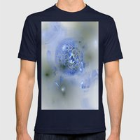 blue Planet Mens Fitted Tee Navy SMALL