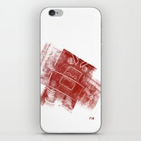 Red Robot! iPhone & iPod Skin