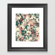 Quiet Garden Movement Framed Art Print