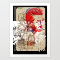 SCHULTZ Art Print