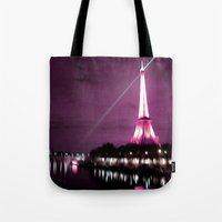 Paris in oil Tote Bag