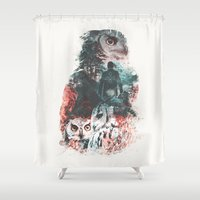 Not What They Seem Inspired by Twin Peaks Shower Curtain
