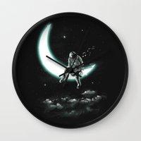 The Moon Song Wall Clock