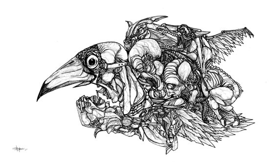 Animal Assembly Canvas Print