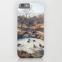 iPhone & iPod Case featuring A Little Stream  by Victoria Dawn Burgamy