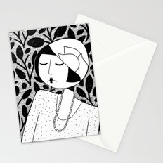 Ramona, lost in thought Stationery Cards