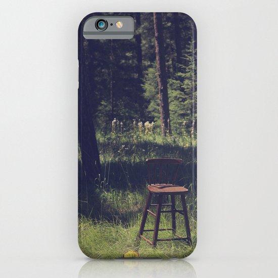 Sitting Elsewhere iPhone & iPod Case