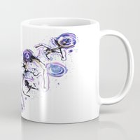 Watercolor Necklace Mug