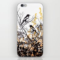 Magpies iPhone & iPod Skin