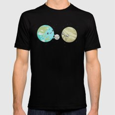 I'd Give you the Moon SMALL Mens Fitted Tee Black