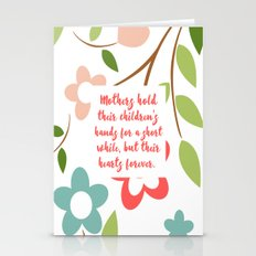 Mothers Hold Their Child… Stationery Cards