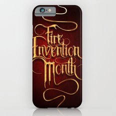 Fire Invention Month Slim Case iPhone 6s