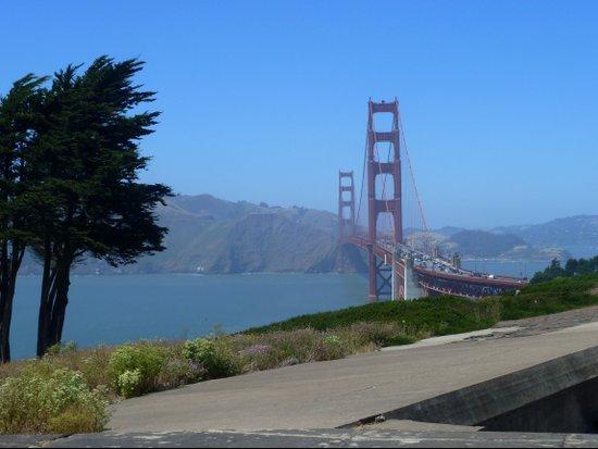 Golden Gate Bridge from the Presidio Art Print
