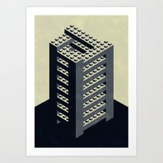 The Impossible Tower Art Print