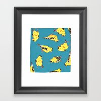 Goldfinches Framed Art Print
