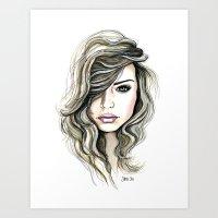 Beachy Waves Art Print