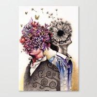 Optimist/Pessimist Canvas Print