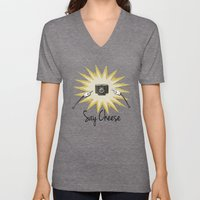 Say Cheese Unisex V-Neck
