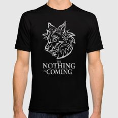 The Nothing is Coming  Black SMALL Mens Fitted Tee