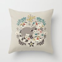 Little Rascals (Light) Throw Pillow