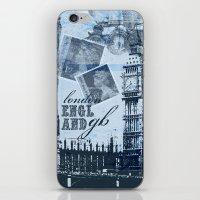 Anglophile Love iPhone & iPod Skin