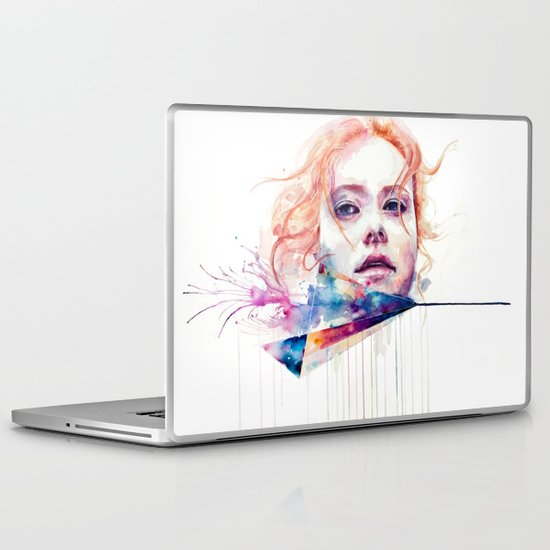 conspiracy of silence Laptop & iPad Skin
