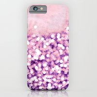 iPhone & iPod Case featuring sea of bling - purple by Iris Lehnhardt