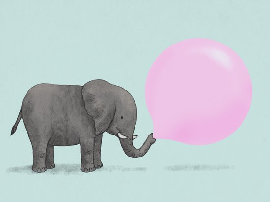 Jumbo Bubble Canvas Print