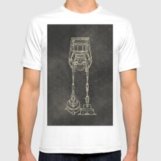 AT-AT Mens Fitted Tee SMALL White
